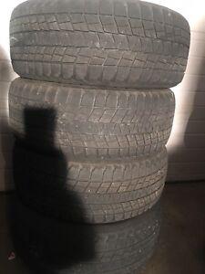 4-245/55R19 Bridgestone winter tires