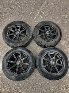 15' set of 4 RTX Compass rims with Winter Tires