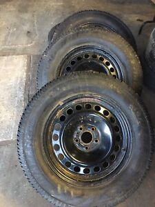 245/65/17 Studded Tires On Ford Rims