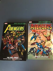 Avengers Epic Collection tpbs
