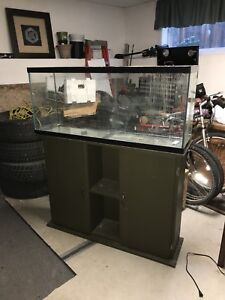 55 gal fish tank and stand $100