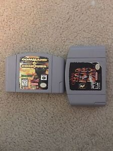 Command and conquer and empty conker cart.