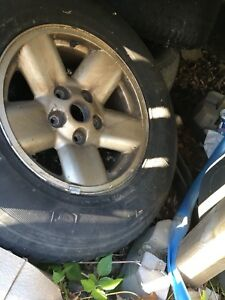 Dodge Ram wheels and tires 265/70r17