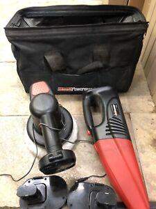 Coleman powermate vacuum and polisher