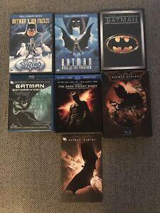 BATMAN BLURAY & DVD MOVIE BUNDLE