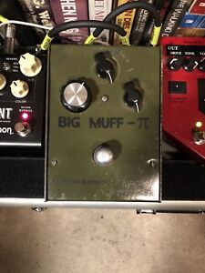 EHX Green Russian Big Muff Pi for sale