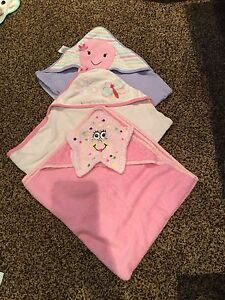 Baby girl towels