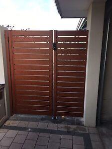 Aluminium slat gates colour bond gates Banksia Grove Wanneroo Area Preview