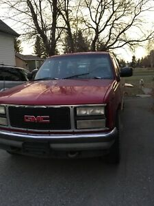 92 GMC Looking to trade...