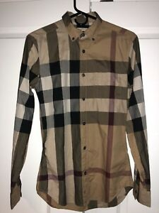 Authentic Burberry Shirt XS