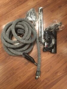 Brand new 35 foot central vacuum hose and attachments