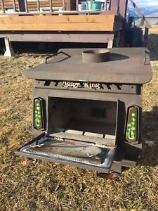 Blaze King wood stove. Make an offer. TRY TRADES.