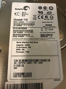 Hard drive 15k 146GB SAS drives test