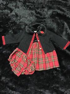 Little girls holiday dress.