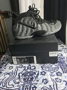 Nike Air Foamposite Pro Tech-Fleece size 12