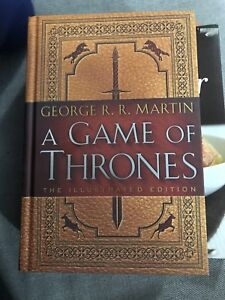 Book: Game of Thrones Illustrated George R R Martin New