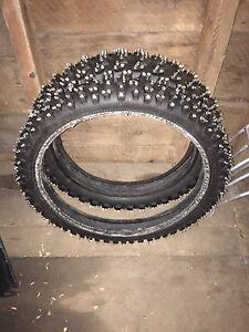 pneu sur glace mx