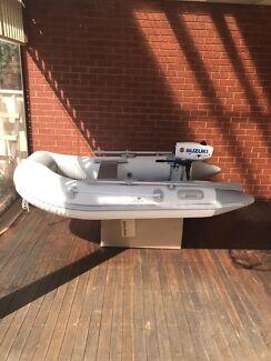 Newport 2.3m Inflatable Boat & 2hp Suzuki Outboard - Tender