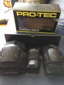 Pro-tec knee, elbow and wrist pads