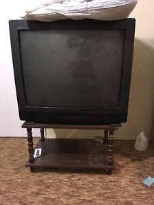 RCA tv with stand