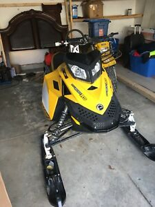2008 SKIDOO 600 RS TRAIL CONVERTED