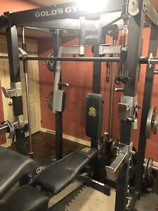 Gold's Gym Pro Series workout cage