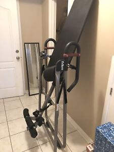 Fit spine inversion table