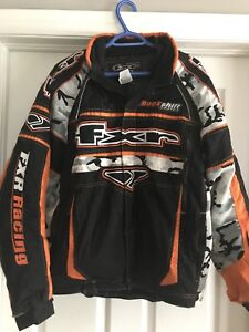 FXR Snowmobile Suit, Helmet and Boots