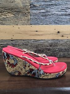 Brand new summer Wedges size 8