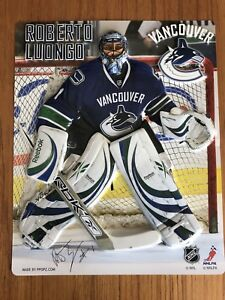 Signed relief photo Roberto Luongo