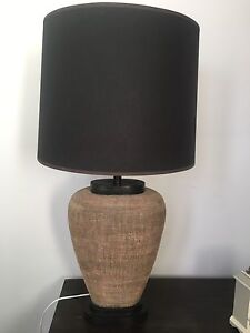 Pair of modern feature lamps excellent condition Box Hill North Whitehorse Area Preview