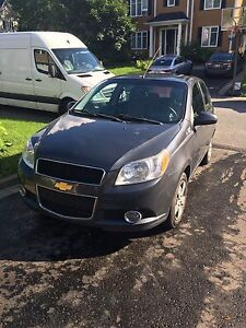 Chevrolet aveo hatchback 2010