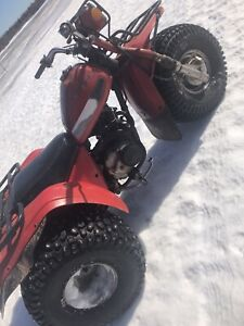 Honda atc 200e 82 near mint! TRADES ONLY