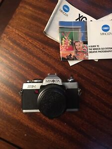 Nice vintage Minolta XG-1 35mm SLR film camera