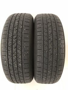 Two 235 65 R18 Allseason Continental CrossContact LotsofTread