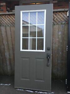 """36""""x80"""" EXTERIOR STEEL DOOR"""