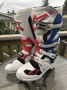 Like new Alpine Star motocross boots