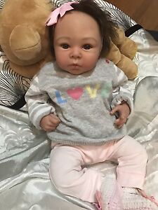 SOLD Reborn Baby Girl Lifelike Doll fake baby Docklands Melbourne City Preview
