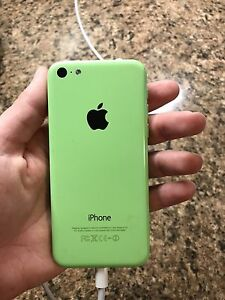 Lime green iPhone 5c 16gb