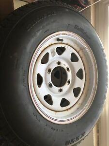 Trailer tires and rims 15 inch