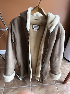 Ladies suede coat Medium