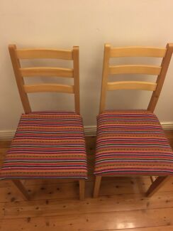 Peruvian dining chairs