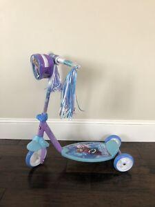 Girl's Frozen Scooter