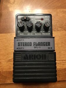 Arion stereo flanger SFL-1  pedal
