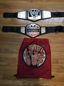 WWE wrestling belts