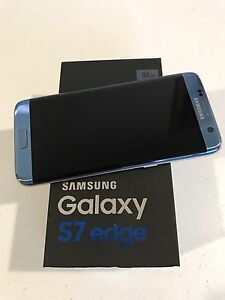 Samsung s7 Edge Fully Unlocked Coral Blue