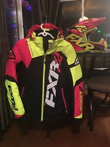 FXR snowmobile Jacket & Helmet