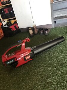 Toro leaf blow hedge trimmer weed eater with battery