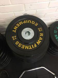 15kg premium bumper plates (pair) Marsfield Ryde Area Preview