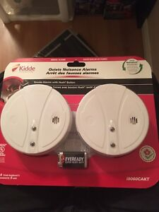 Kiddie fire alarms 2 new in box